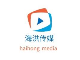 深圳海洪传媒logo标志设计