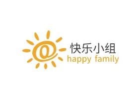 佛山快乐小组logo标志设计