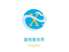西安星皓看世界公司logo设计