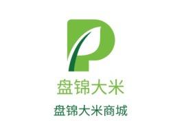惠州盘锦大米品牌logo设计