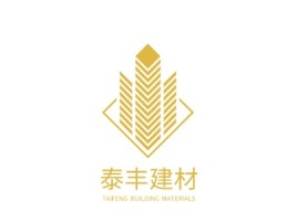 大连TAIFENG BUILDING MATERIALS企业标志设计