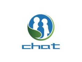 西安chat公司logo设计