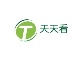 阳江天天看品牌logo设计
