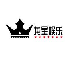 龙星娱乐logo标志设计