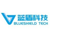广州蓝盾科技公司logo设计