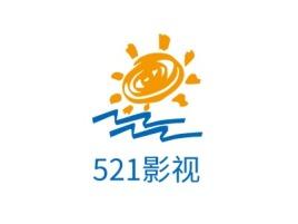 521影视logo标志设计