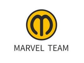 西安MARVEL TEAMlogo标志设计