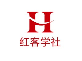 太原红客学社logo标志设计