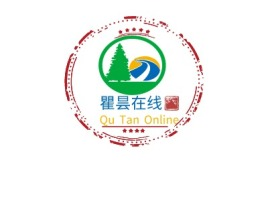 韶关Qu Tan Onlinelogo标志设计