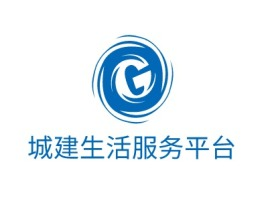 阳江城建生活服务平台logo标志设计