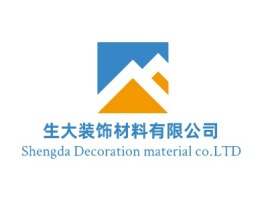 韶关Shengda Decoration material co.LTD企业标志设计