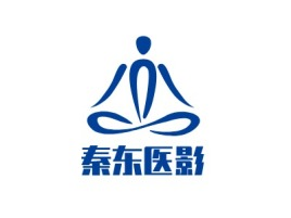 成都秦东医影门店logo标志设计