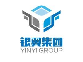 银翼集团公司logo设计