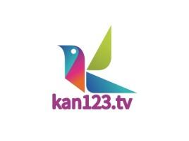 西安kan123.tvlogo标志设计