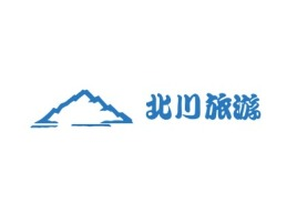 北川旅游logo标志设计