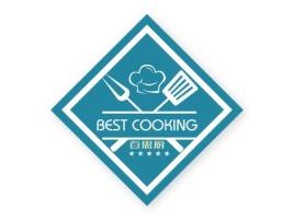 百思厨店铺logo头像设计
