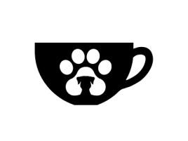佛山小花狗店铺logo头像设计