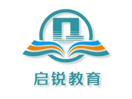 惠州启锐教育logo标志设计