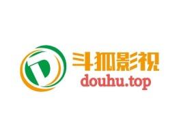 深圳斗狐影视logo标志设计