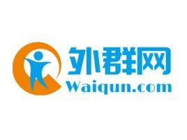 大连外群网公司logo设计