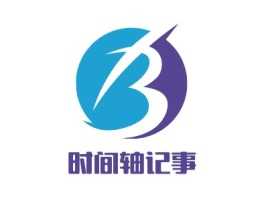 杭州时间轴记事公司logo设计