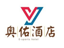深圳奧水酒家logo标志设计
