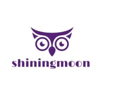 深圳shiningmoonlogo标志设计