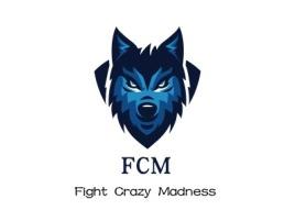 梅州FCMlogo标志设计