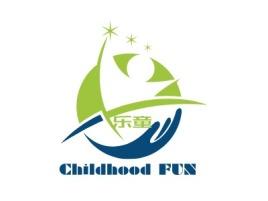 西安Childhood FUNlogo标志设计