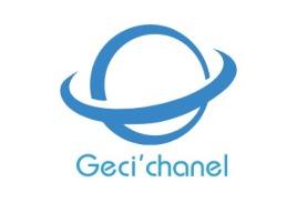 云浮Geci'chanel店铺标志设计
