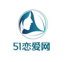成都51恋爱网门店logo设计