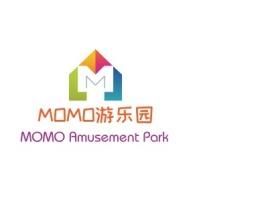 MOMO游乐园店铺标志设计