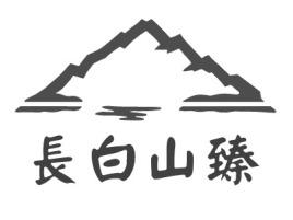 長白山臻品牌logo设计