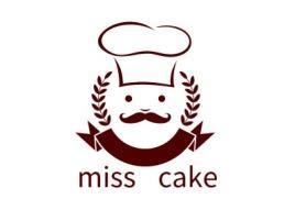 miss cake店铺标志设计