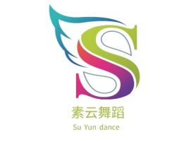 Su Yun dance公司logo设计