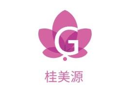 桂美源店铺标志设计
