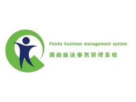 湖南庞达业务管理系统 公司logo设计