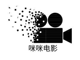 咪咪电影logo标志设计