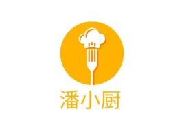 潘小厨店铺logo头像设计