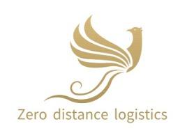 Zero distance logistics公司logo设计