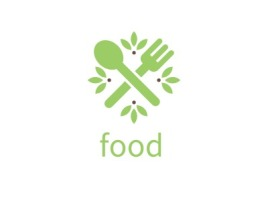 food店铺logo头像设计