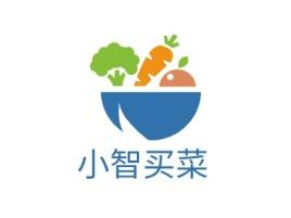 小智买菜店铺标志设计