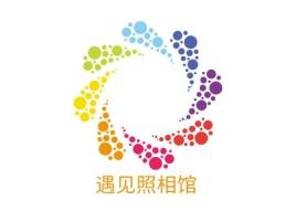 遇见照相馆门店logo设计
