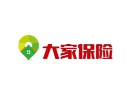 大家保险公司logo设计