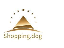 Shopping.dog店铺标志设计