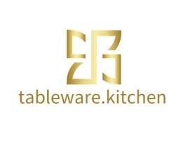 tableware.kitchen店铺标志设计