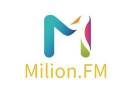 Milion.FM公司logo设计