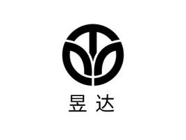 昱昇达店铺标志设计