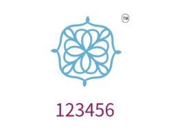 123456店铺标志设计