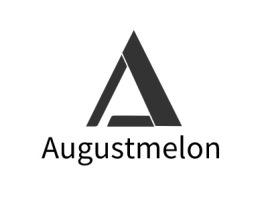 Augustmelon店铺logo头像设计